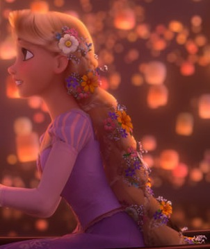 Rapunzel Tangled Romantic Scene
